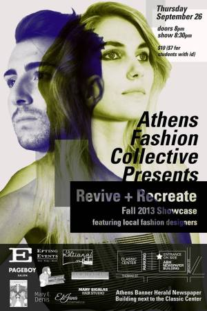 Athens Fashion Collective presents