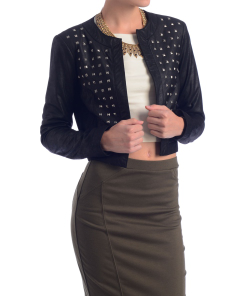 BB Dakota Blakely Studded Leather Jacket at South Moon Under on SALE for $280