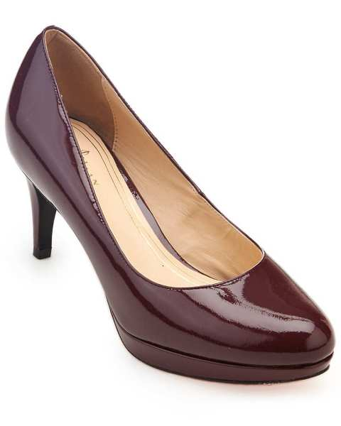 "Cole Haan ""Chelsea Low"" Patent Pump in Oxblood on Rue La La for $119.90"