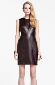 GET THE LOOK: Cynthia Steffe Faux Leather Sheath at Nordstrom - Buy it NOW for $248
