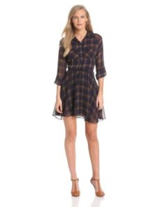 GET THE LOOK: DV by Dolce Vita Plaid Dress at Amazon - Buy it NOW for $132