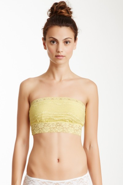Free People Scalloped Lacey Bandeau on Hautelook for $14.00