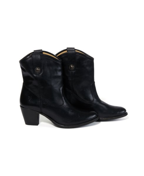 Frye Jackie Short Button Booties at South Moon Under on SALE for $254.40