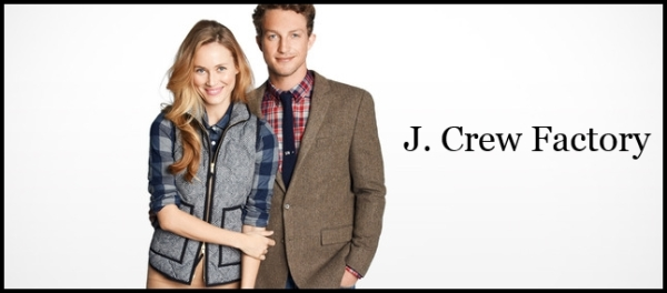J.Crew Factory courtesy of Gilt City
