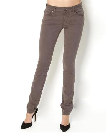 Level 99 Classic Five-Pocket Skinny Jeans in Wrought-iron, $49 at Modnique
