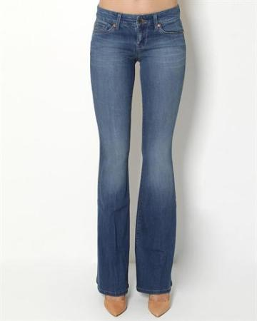 Level 99 Faded Wash Flare Jeans, $55 at Modnique