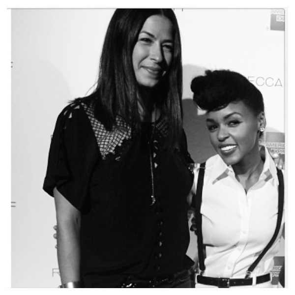 Rebecca Minkoff and Janelle Monae courtesy of Instagram