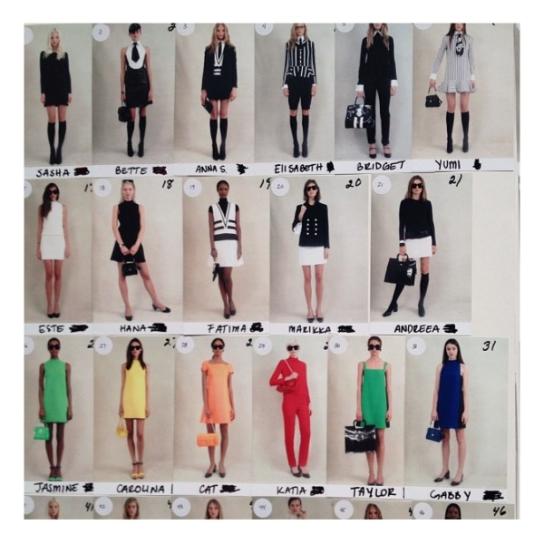Ralph Lauren Spring 2014 Collection courtesy of Instagram