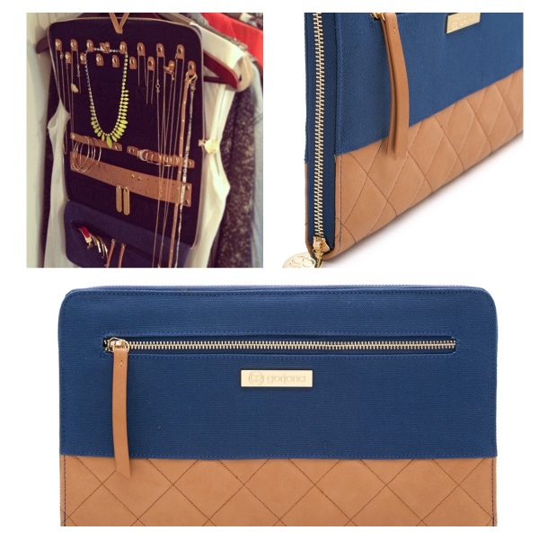 Gorjana & Griffin Thompson Jewelry Case on sale for $116 (232 reward points!)