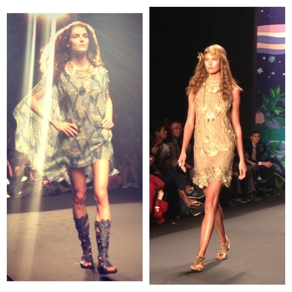 Anna Sui Spring 2014 courtesy of Instagram