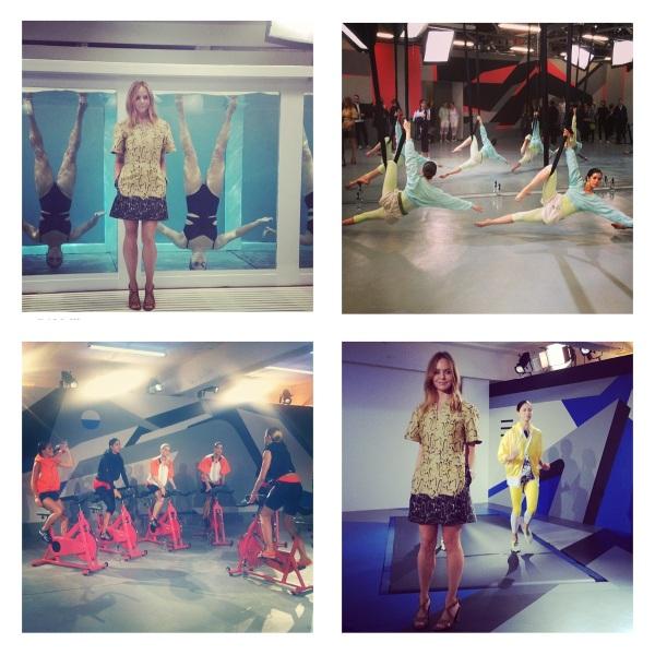 Adidas Women by Stella McCartney Spring 2014 at London Fashion Week courtesy of Instagram