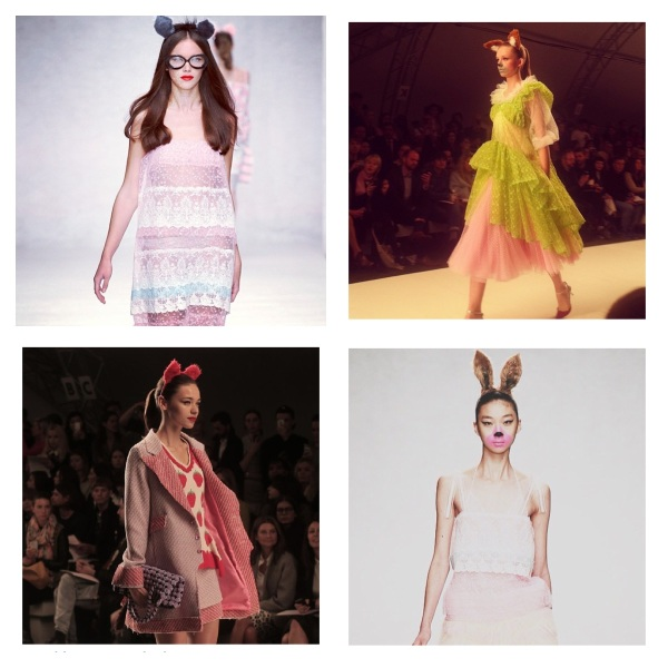 Fashion East Spring 2014 at London Fashion Week courtesy of Instagram