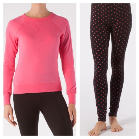 Thread 4 Thought: Sweatshirt, $14.99, and Leggings $18.74