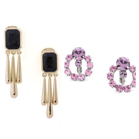 Eclipsed Earrings, $20.99, and Deneuve Earrings, $23.99