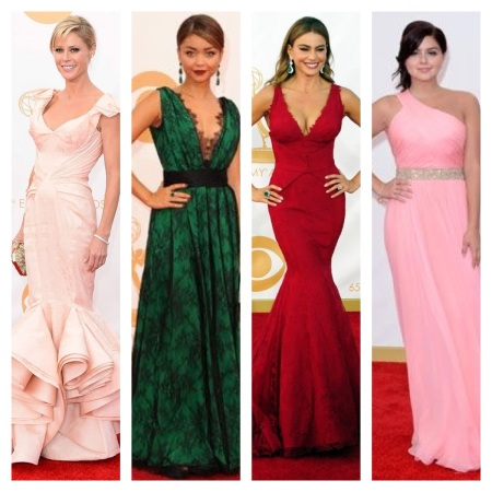 Julie Bowen, Sarah Hyland, Sofia Vergara, and Ariel Winter Emmy Awards 2013 courtesy of Pinterest