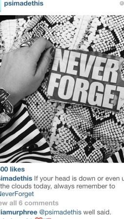 P.S. I made this... honors 9/11 on Instagram