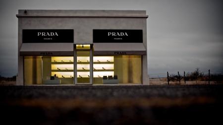 Prada Marfa by Elmgreen and Dragset