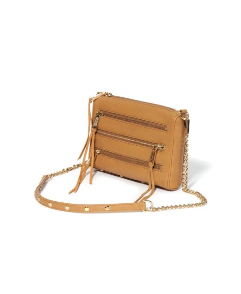 Rebecca Minkoff Tawny Mini Mac 5 Zip Handbag at South Moon Under on SALE for $156.00