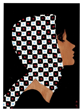 Girl With A Checked Head Scarf, 1962 courtesy of Christies