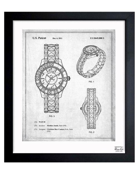 """Dior Watch 2011"" by Oliver Gal Artist Co. on Rue La La"