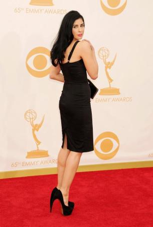 Sarah Silverman in Stop Staring at the 2013 Emmy Awards courtesy of JEFFREY MAYER/WIREIMAGE
