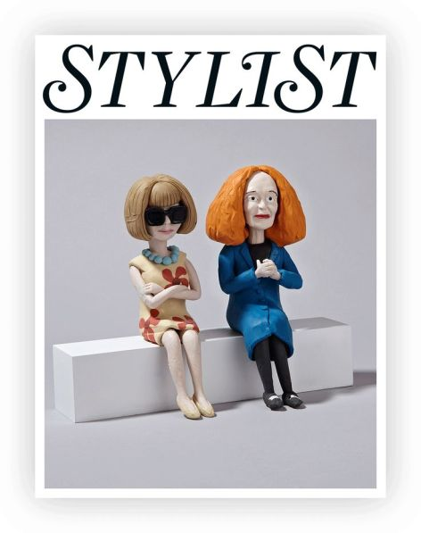 Anna Wintour and Grace Coddington courtesy of Pinterest