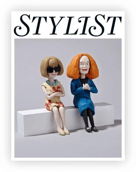 Anna Wintour and Grace Coddington courtesy of Pinterest