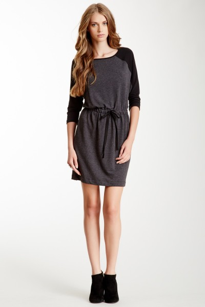 TART Astoria Tunic in Charcoal and Black on Hautelook for $59