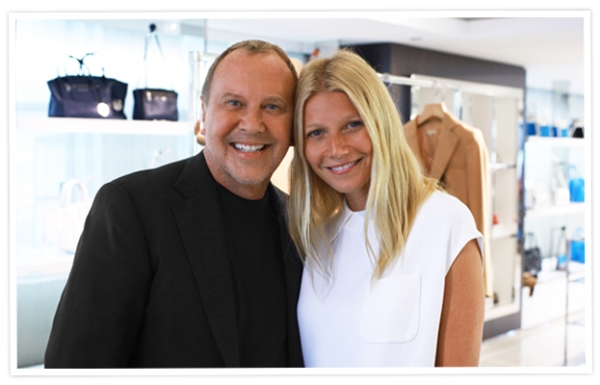 Designer Michael Kors and Actress Gwyneth Paltrow, courtesy of InStyle Magazine