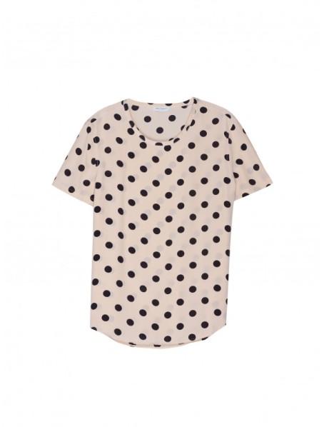 Nude Dot Print Riley Tee, $134.40