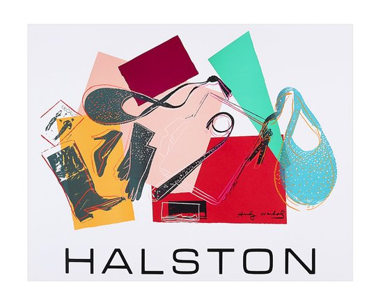 SOLD OUT Halston Print by Andy Warhol, $1000 at Fab.com