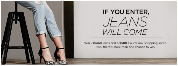 J Brand Jeans and Hautelook Promo