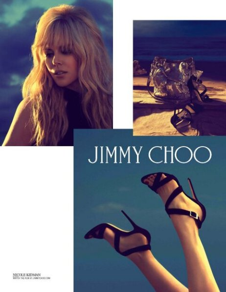 Nicole Kidman for Jimmy Choo, Resort 2014