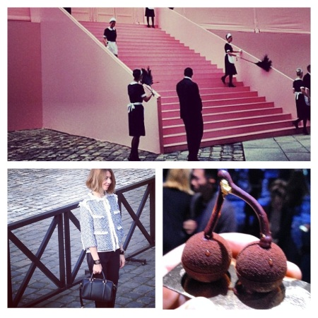 Before the Show: Entrance, Sofia Coppola, and Eats! All images courtesy of Instagram