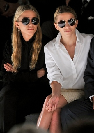 Mary Kate and Ashley Olson courtesy of Pinterest