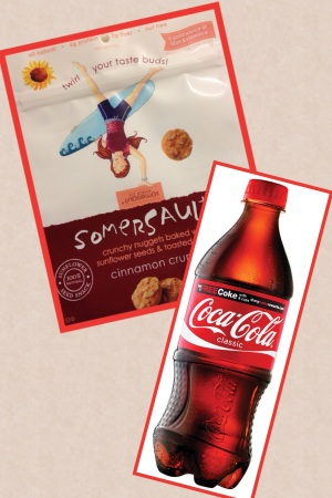Cinnamon Crunch Somersaults and Coca Cola