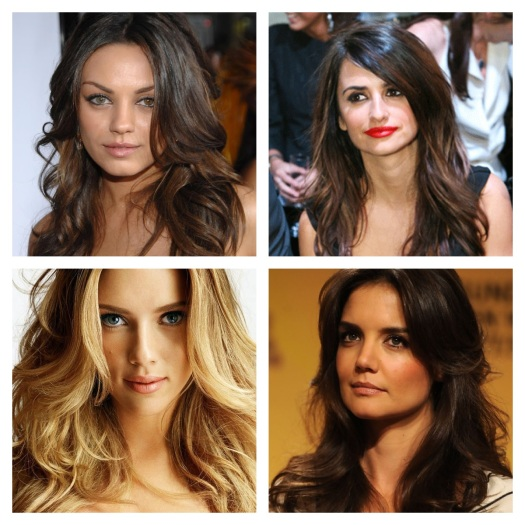 Mila Kunis, Penelope Cruz, Scarlett Johansson, and Katie Holmes.