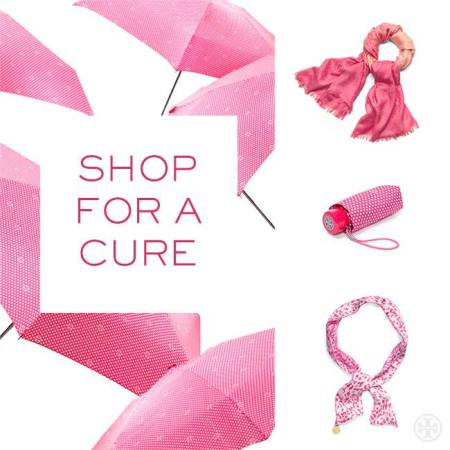 Tory Burch Breast Cancer Awareness collection, $48-$185