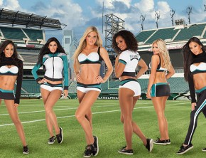 Philadelphia Eagles Cheerleading Uniforms by Vera Wang