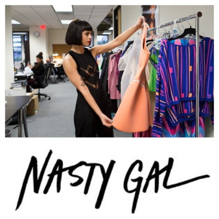 Sophia of Nasty Gal, courtesy of the New York Times