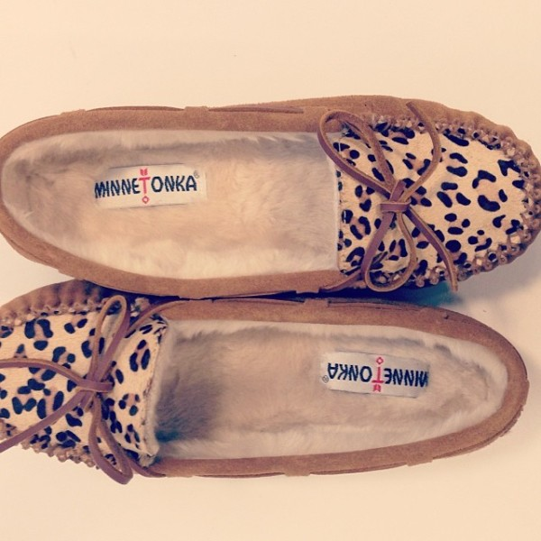 Minnetonka Cally Slipper, $39.95