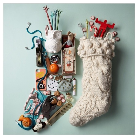 Anthropologie Stocking Photo Contest