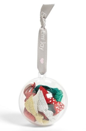 Emi-Jay Hair Tie Ornament (Set of 10), $20 at Nordstrom