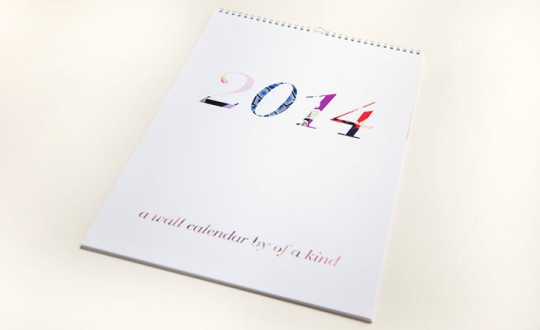 Of a Kind 2014 Calendar Cover