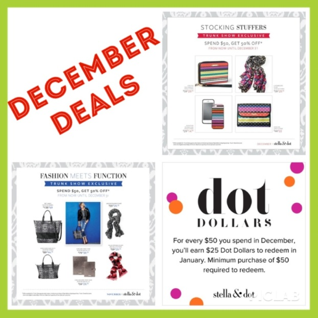 stella and dot december deals