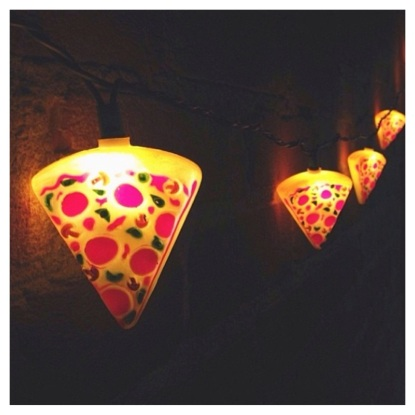 Pizza Lights courtesy of Urban Outfitter Instagram