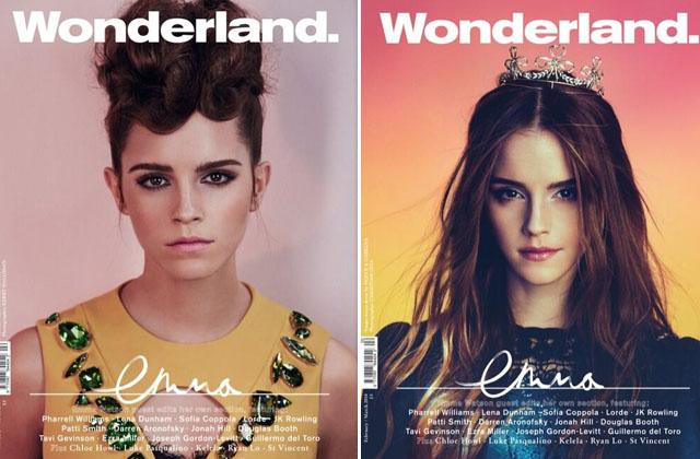 Image courtesy of Wonderland magazine