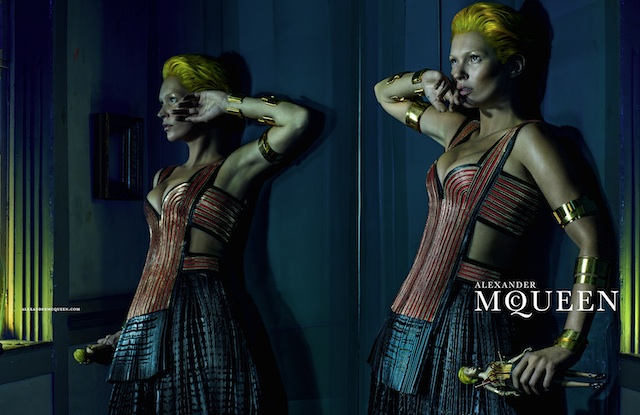 Image courtesy of Alexander McQueen and Steven Klein