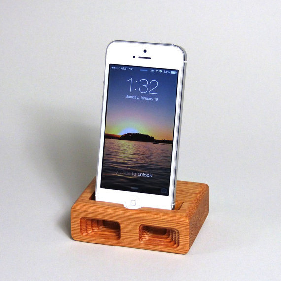 etsy iphone dock