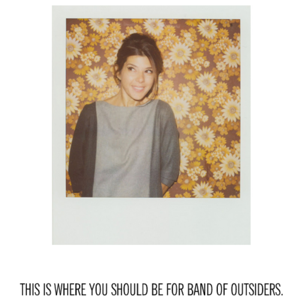 Image courtesy of Band of Outsiders